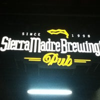 Photo taken at Sierra Madre Brewing Co. Pub by Sergio N. on 4/11/2012