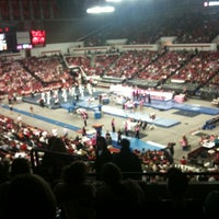 Photo taken at Stegeman Coliseum by Marisa L. on 2/18/2012