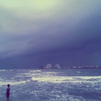Photo taken at Fort Kochi Beach by Anas P. on 7/1/2012