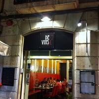 Foto tomada en Restaurant de Vins por Joaquin E. el 8/11/2011