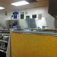 Photo taken at Pieces Pizza by the Slice by Rene A. on 9/13/2012