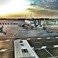 Photo taken at Venice Marco Polo Airport (VCE) by Lorenzo B. on 7/30/2012