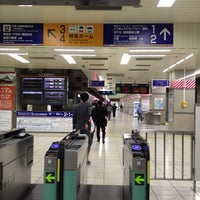 Photo taken at Tobu Asakusa Station (TS01) by Jun I. on 4/19/2012