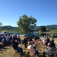 Photo taken at Dollarhide Ranch Vineyard by Eric B. on 6/5/2012