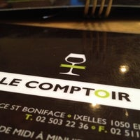 Photo taken at Le Comptoir by Gate G. on 4/13/2012