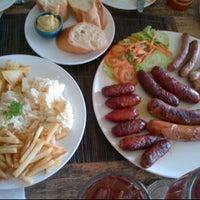Photo taken at Extrablatt Deutscher Restaurant by Sianne A on 1/20/2012