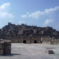 Photo taken at Golconda Fort by Srichand A. on 1/29/2012