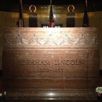 Photo taken at Lincoln Tomb State Historic Site by Ken M. on 8/31/2012