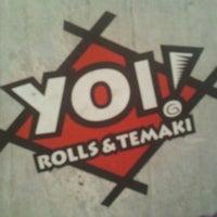 Foto tirada no(a) Yoi! Roll's & Temaki por Rodrigo X. em 9/13/2012
