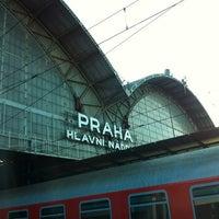 Photo taken at Prague Main Railway Station by Simonna M. on 8/17/2012