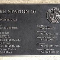 Photo taken at FS# 10 Las Vegas Fire & Rescue by JP C. on 11/21/2011