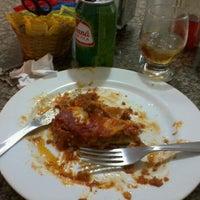 Photo taken at Pizzaria Azeite de Oliva by @ronaldo a. on 12/20/2011