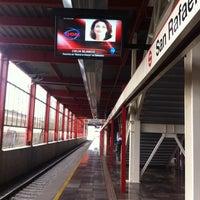 Photo taken at Tren Suburbano San Rafael by DaNi B. on 7/12/2012