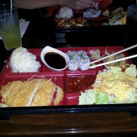 Photo taken at Okinawa- Sushi & Hibachi Steak House by KarenJ on 3/20/2012