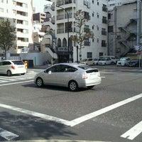 Photo taken at 入船二丁目交差点 by yasuzoh on 11/27/2011