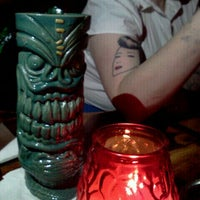 Photo taken at Frankie's Tiki Room by Mary E. on 10/16/2011