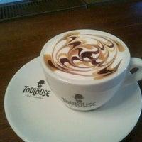 Photo taken at Toulouse Café-Brasserie by Timea N. on 10/17/2011