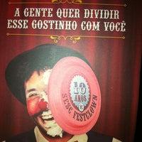 Photo taken at Teatro Funarte Plínio Marcos by Carioca O. on 5/9/2012