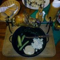 Photo taken at Restaurace U Vltavy by Slavek on 12/10/2011