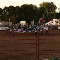 Photo taken at Brown County Fairgrounds by Nicki C. on 8/18/2012