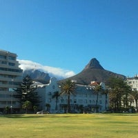 Photo taken at Sea Point Beach Promenade by Max K. on 12/1/2011