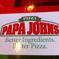 Photo taken at Papa John's by John Gabriel C. on 6/26/2012