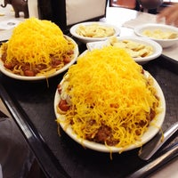 Photo taken at Skyline Chili by Derrick Y. on 9/3/2012