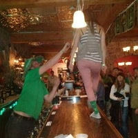 Photo taken at McKnights Irish Pub by Casey B. on 3/18/2012