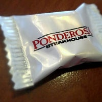 Photo taken at Ponderosa Steakhouse by Sam B. on 1/3/2012