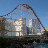 Photo taken at The Roller Coaster by Gokce B. on 7/23/2012
