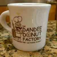 Photo taken at The Dandee Donut Factory by Jamie H. on 4/26/2012