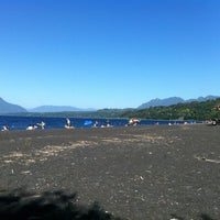 Photo taken at Playa Correntoso by Elbert W. on 12/31/2011