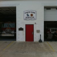 Photo taken at North York Fire Dept. by DJ A. on 4/10/2011