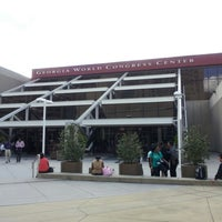 Photo taken at Georgia World Congress Center (GWCC) by Nicole C. on 9/13/2012