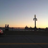 Photo taken at MacArthur Bridge by Gary L. on 8/6/2012
