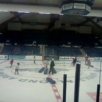 Photo taken at Alfond Arena by Jen M. on 10/4/2011