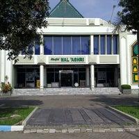 Photo taken at Masjid Wal' Ashri Pertamina by AndriSriKresna Y. on 11/14/2011