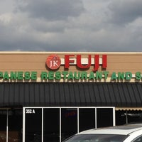 Photo taken at JK Fuji Japanese Steakhouse and Sushi by Dale N. on 2/24/2012