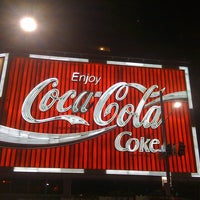 Photo taken at The Coca-Cola Billboard by kerngs t. on 4/7/2011