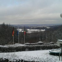 Photo taken at Panoramarestaurant De Bokkerijder by Wouter H. on 12/18/2011