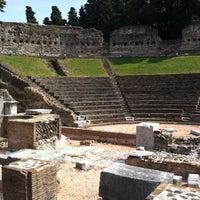 Photo taken at Teatro Romano by Scott P. on 8/15/2011