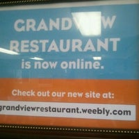 Photo taken at Grandview Restaurant by Wendy W. on 9/28/2011