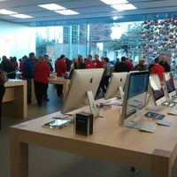 Photo taken at Apple Store by Shawn W. on 12/27/2011