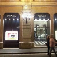 Photo taken at Prada by Carlos F. on 12/30/2011