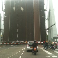 Photo taken at Tesselsebrug by Bas S. on 7/25/2011