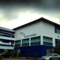 Photo taken at Pasir Ris Crest Secondary School by niicholas z. on 3/23/2012