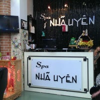 Photo taken at Nha Uyen Salon by Tuyet N. on 5/24/2012