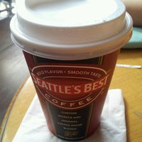 Photo taken at Seattle's Best Coffee by Kathz on 1/27/2012