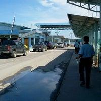 Photo taken at Terminal Feri Menumbuk, Sabah by Esther M. on 11/9/2011