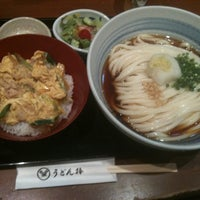 Photo taken at うどん棒 大阪本店 by amayan あ. on 5/16/2011